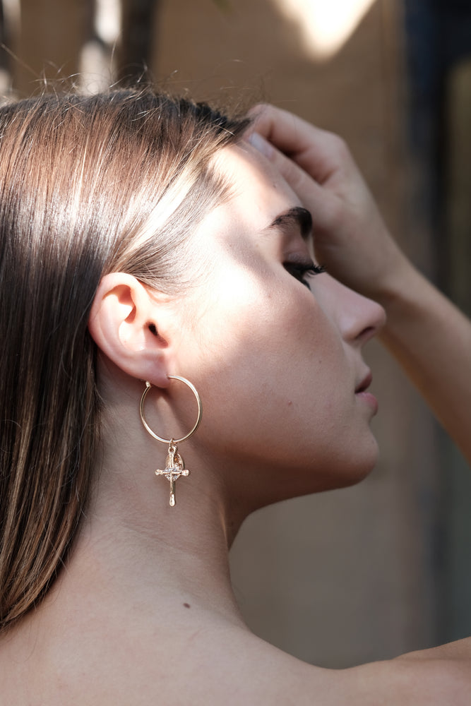 Silana Earrings - Gold