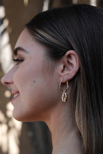 Mikel Earrings - Gold - SAINT DELILAH