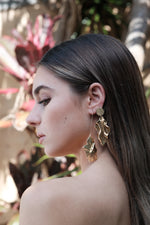 Montaigu Earrings - Gold - SAINT DELILAH