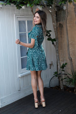 Abella Dress - Green - SAINT DELILAH