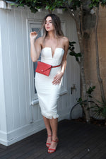 Louise Dress - Cream - SAINT DELILAH