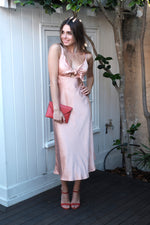 Delphine Dress - Peach