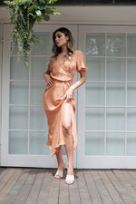 Myriam Dress - Peach