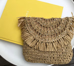 Aicha Clutch - Tan - SAINT DELILAH