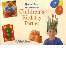 Quick & Easy Way to Organise Children's Birthday Parties