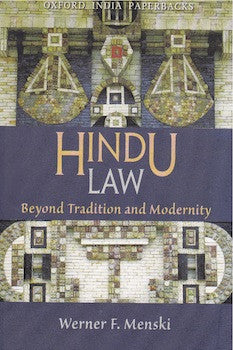 Hindu Law: Beyond Tradition and Modernity