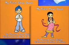 My First Sikh Books (two parts &  two coloring books)