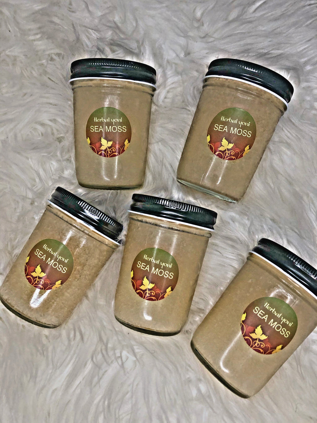 HERBAL YONI SEA MOSS. 8 oz (2 ONLY EACH ORDER)