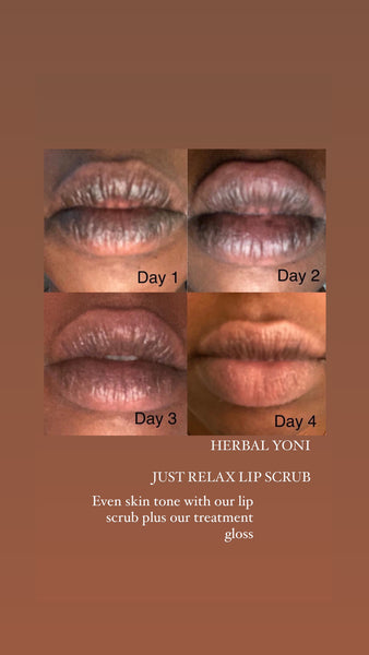 LIP SCRUB TREATMENT SET ( 3 FLAVOR' S LISTED BElow )