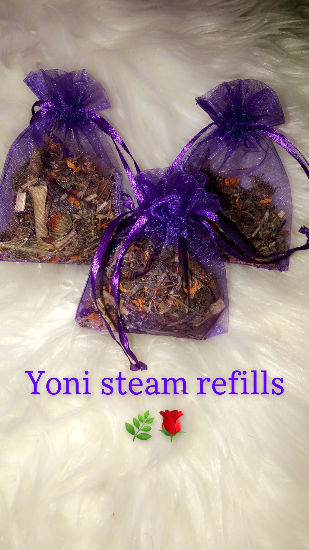 Herbal yoni steam refills 2 For 15