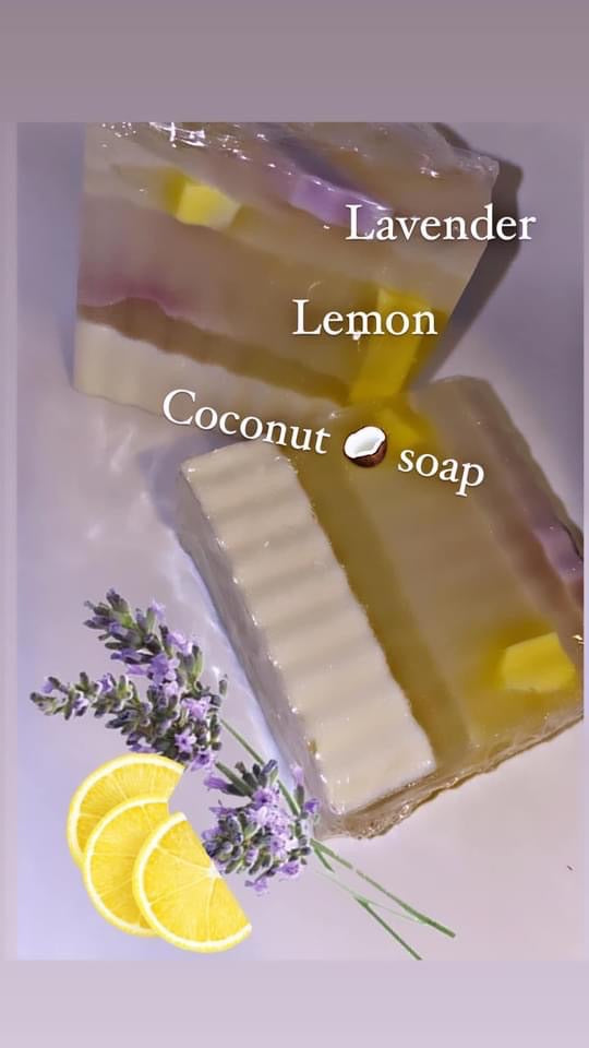 Lavender- lemon 🍋 body  bar