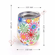 Load image into Gallery viewer, Swig 9oz Decorative Stainless Steel Tumbler