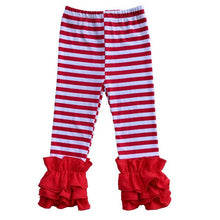 Load image into Gallery viewer, Toddler Multi-Color Ruffle Flare Leggings