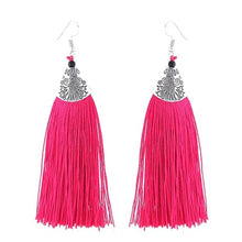 Load image into Gallery viewer, Boho Dangle Drop Tassel Earrings