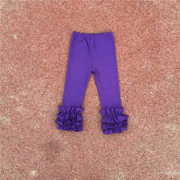 Craving Ruffles Toddler Girl Ruffled Leggings