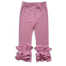 Load image into Gallery viewer, Craving Ruffles Toddler Girl Ruffled Leggings