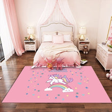 Load image into Gallery viewer, Floor Mat Bedroom Decor Anti-slip Unicorn Design Rug - UnicornFeathers