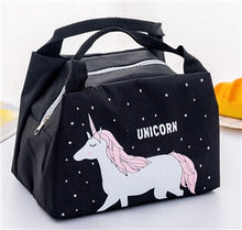 Load image into Gallery viewer, Unicorn  Cute Small  Lunch Bag Thermal Insulated Lunch Box