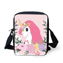 Load image into Gallery viewer, Unicorn Shoulder Bags Children Messenger Bag Phone Bag - UnicornFeathers