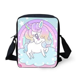 Unicorn Shoulder Bags Children Messenger Bag Phone Bag - UnicornFeathers