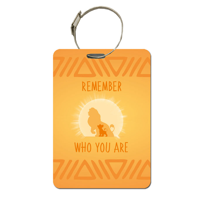Lion King luggage tag | Handbag tag