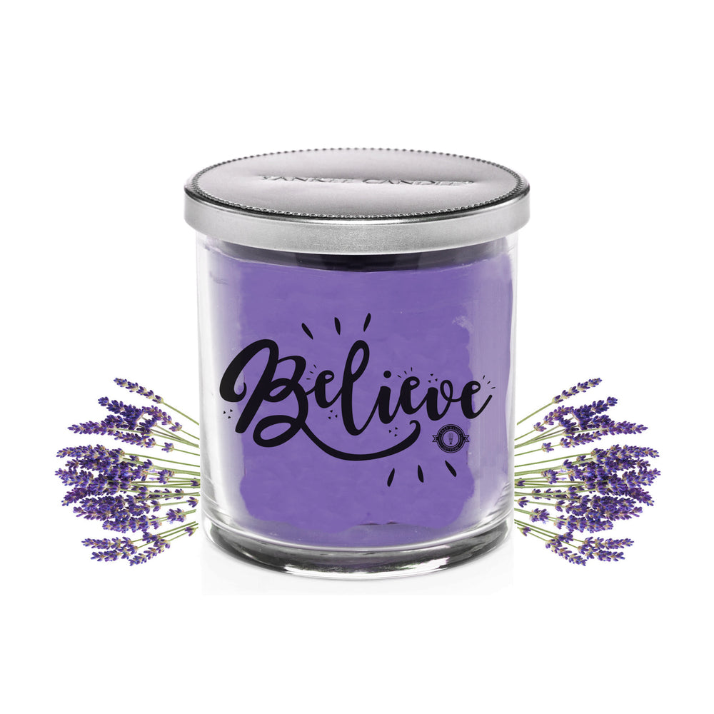 Scented Jar Candle (Lavender)