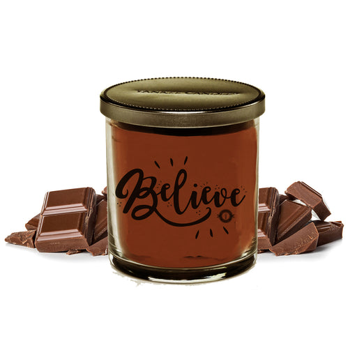 Scented Jar Candle (Chocolate)