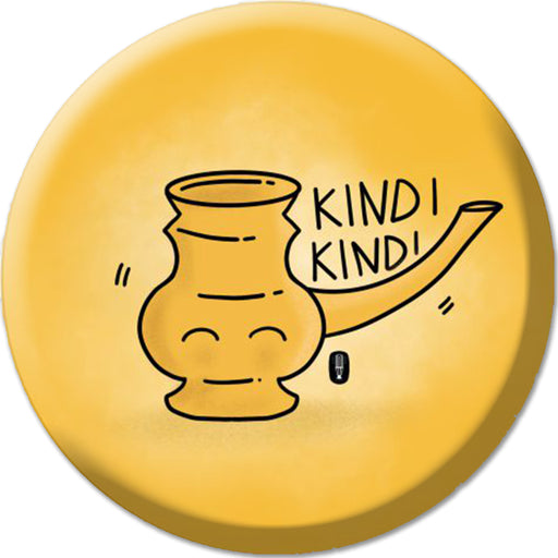 """Kindi"" Badge (5.8cm)"