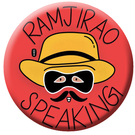 Ramji Rao Speaking Badge (5.8cm)