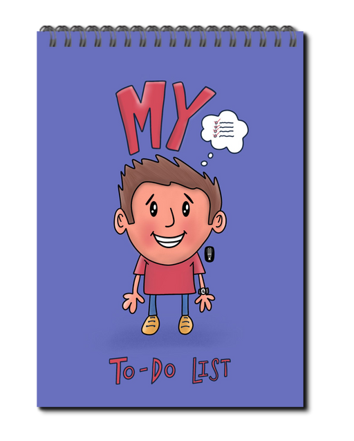 My To-Do List (boy) book | Spiral bound