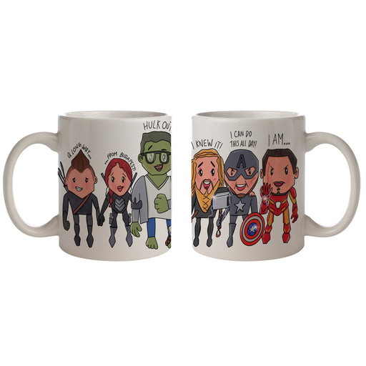 Avengers Endgame Fan Art Tribute Coffee Mug