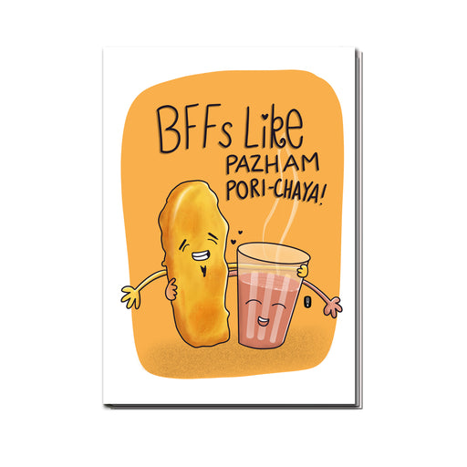 BFFs like Pazhampori and Chaaya  Sketchbook | Unruled | 100 pages
