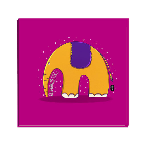 Elephantastic Square Jotbook | Notebook