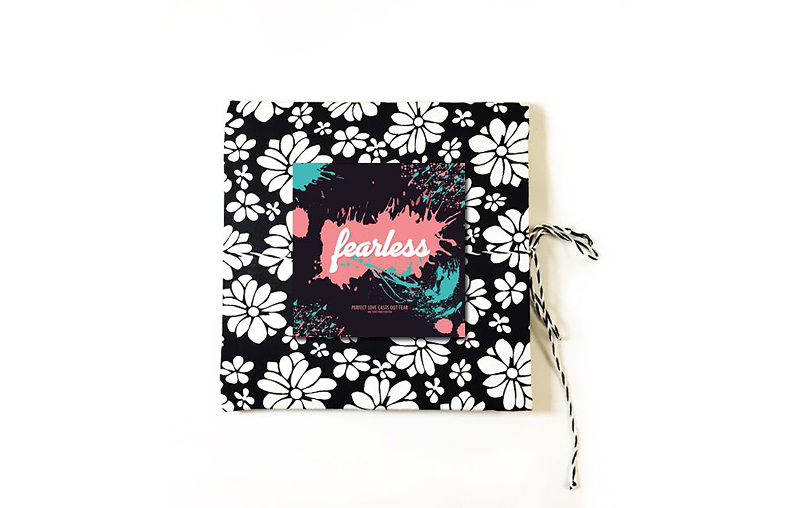 Fearless Cloth Journal | Square notebook | Sketchbook
