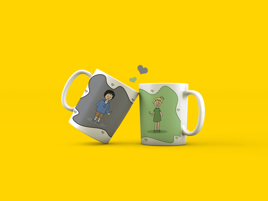 True love coffee mugs (2)