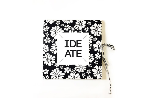 Ideate Cloth-bound  Journal | Square notebook | Sketchbook