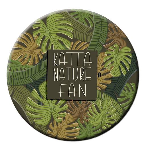 Katta Nature Fan badge | Gift for an environment lover | Pin Badge