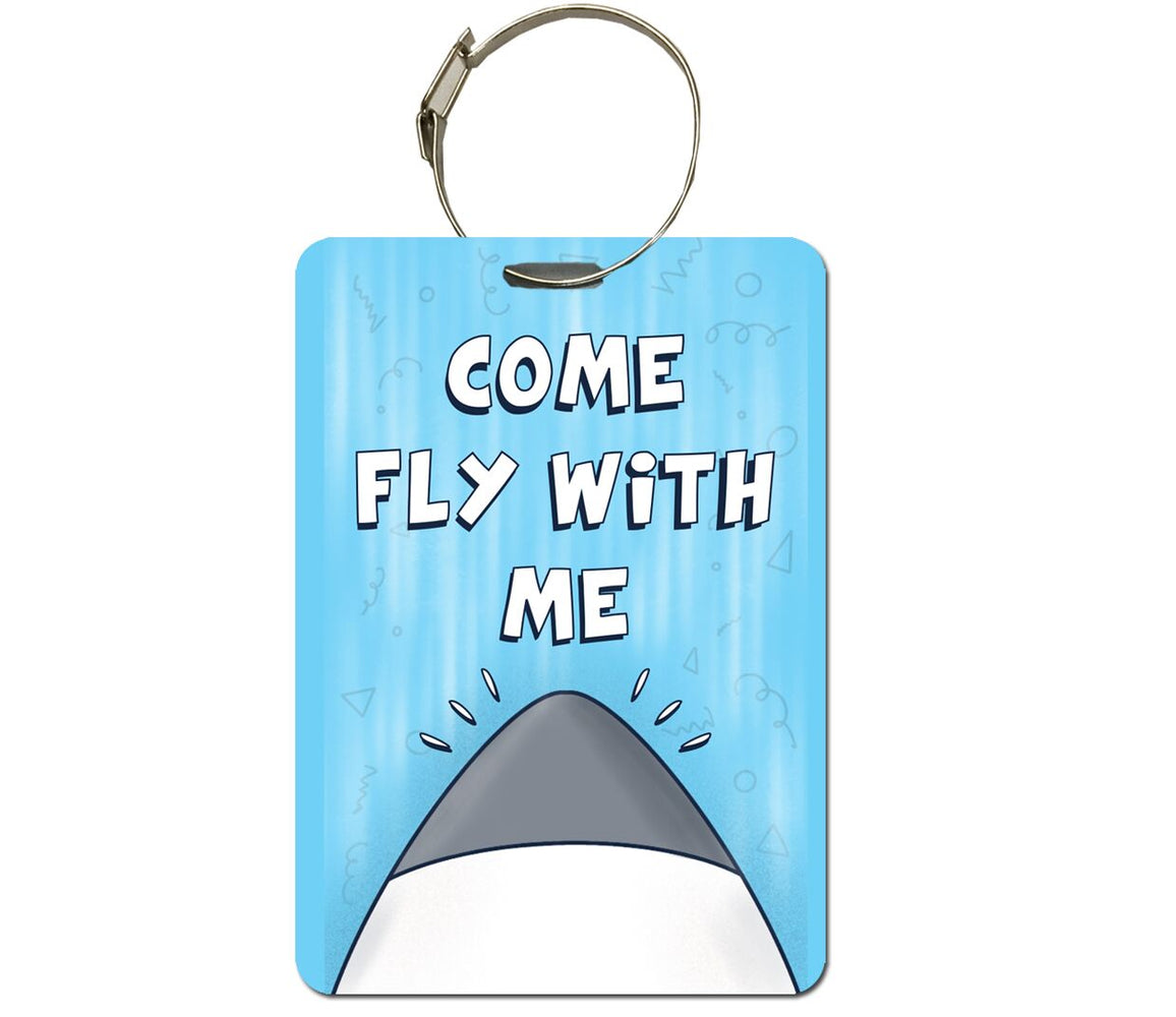 Fly away with me Bag Tag