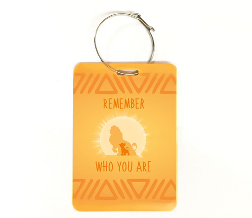 Remember who you are | Lion King Tribute Bag Tag