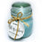 """All is calm"" See Breeze- Mottled Jar Candle 