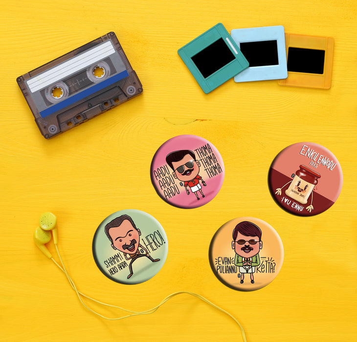 Mammooty | Rajamanikyam Tribute Badge (5.8cm)