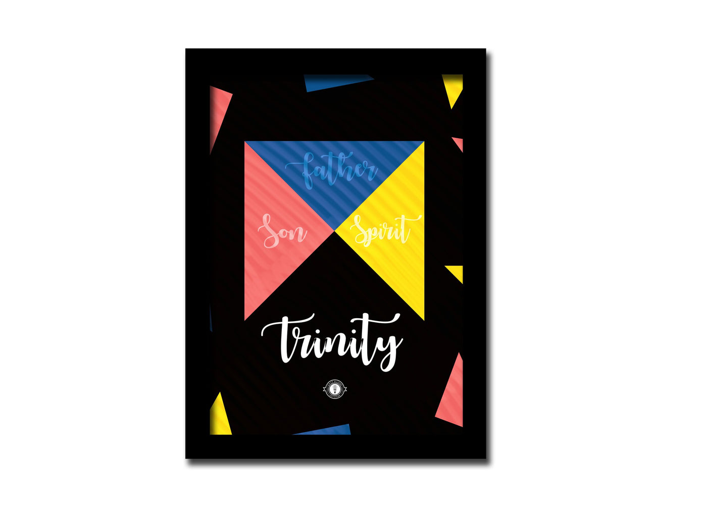 Trinity Frame A5 Frame | For desktop and Wall | Comes with a stand and a hook