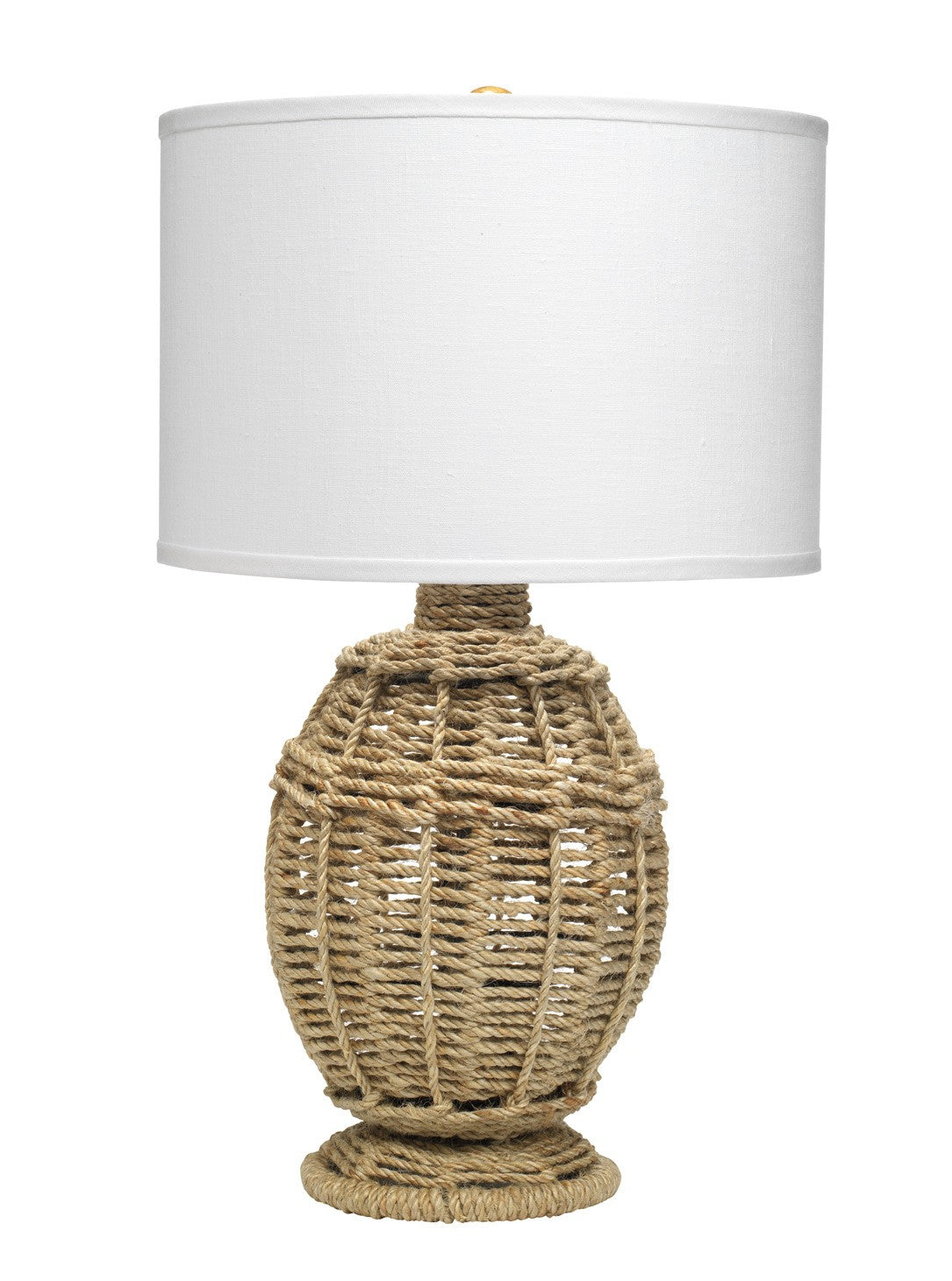 Jamie Young Small Jute Urn Table Lamp