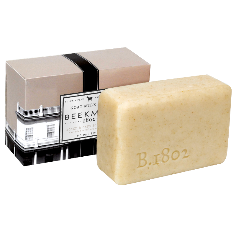 Beekman 1802 Honey & Oats Goat Milk Soap Scrub Bar