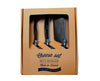 Laguiole Three Piece Black Cheese Set