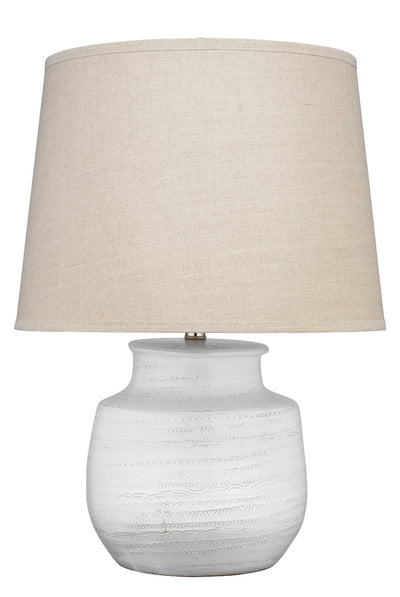 Wide Trace Table Lamp