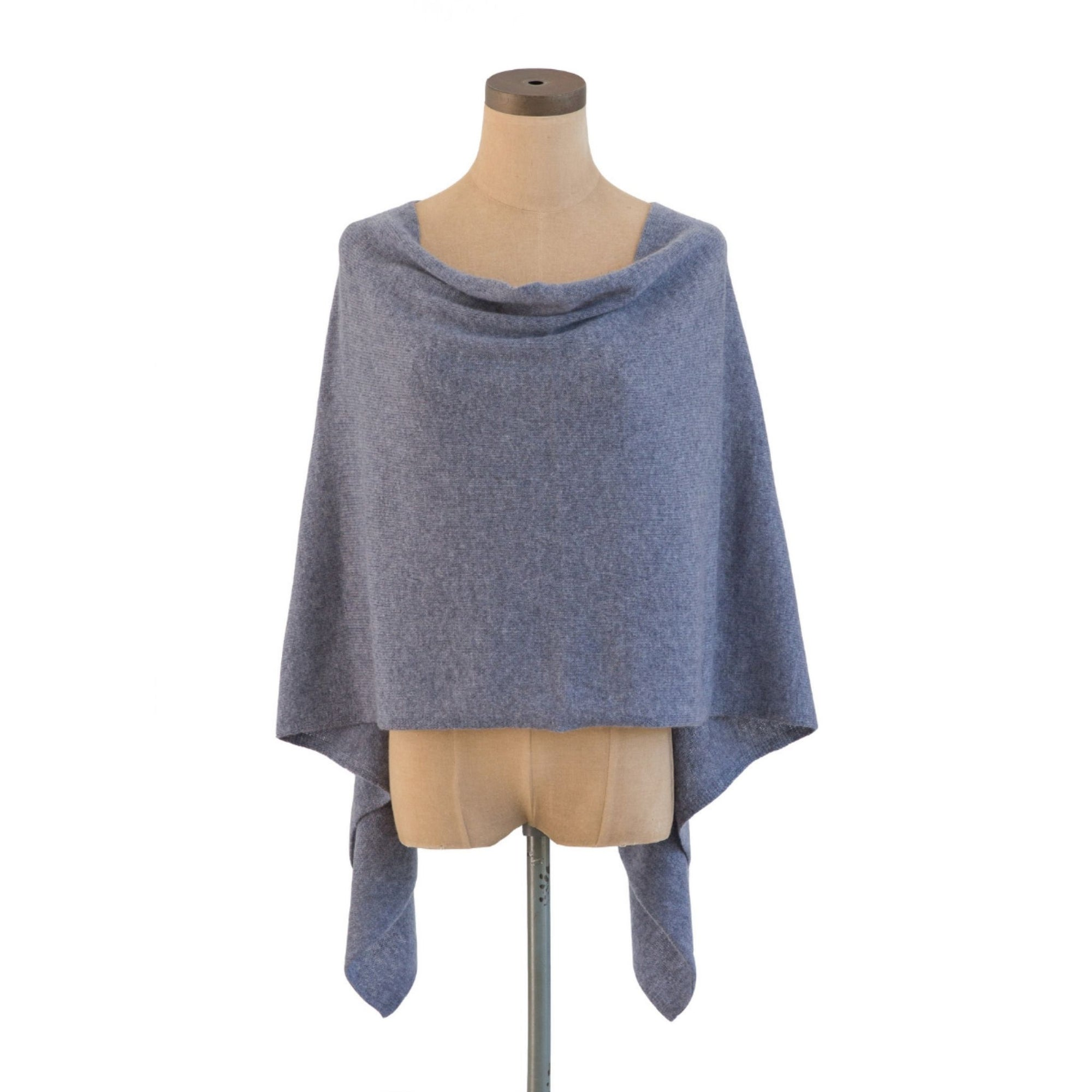 Bluestone Cashmere Dress Topper