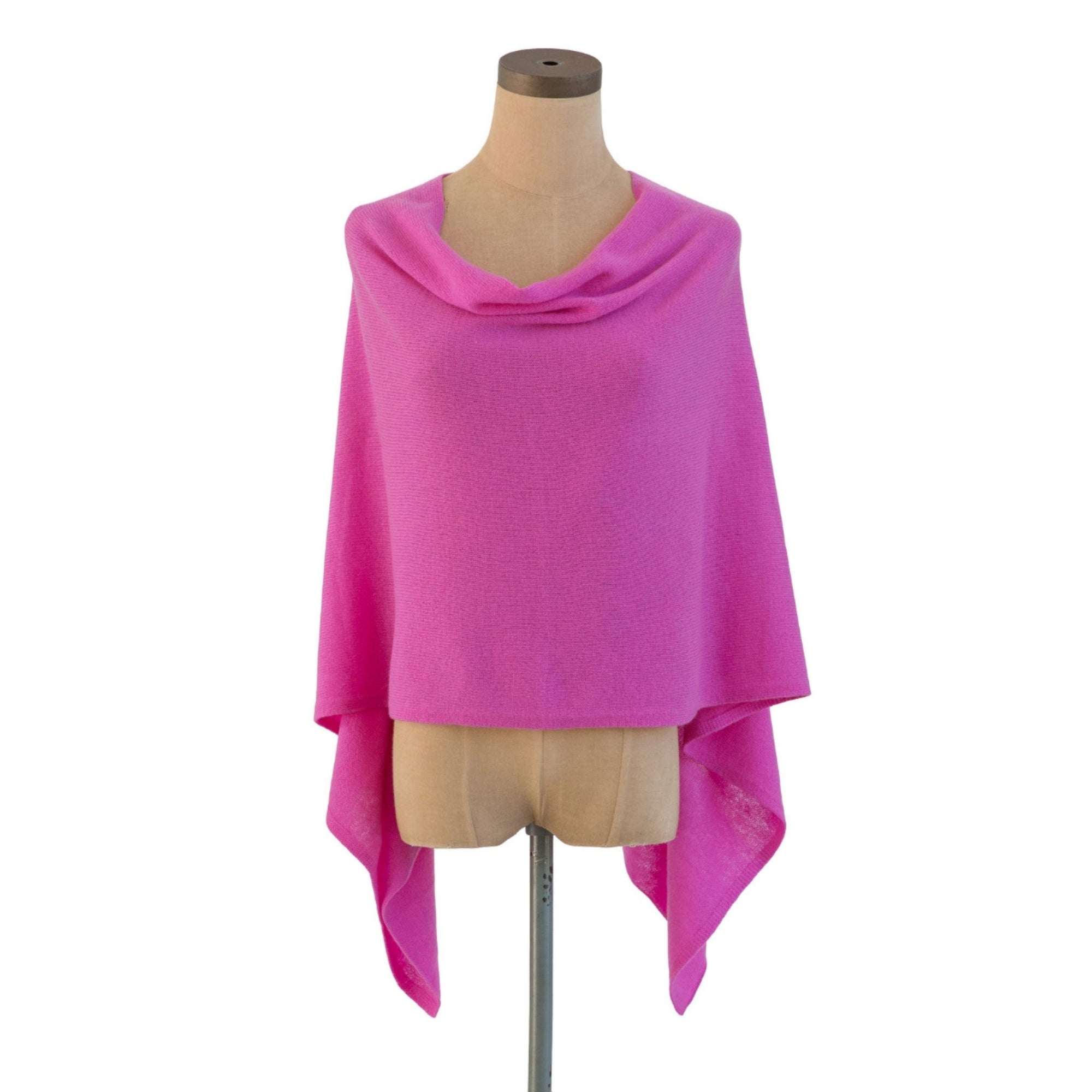 Orchid Cashmere Dress Topper