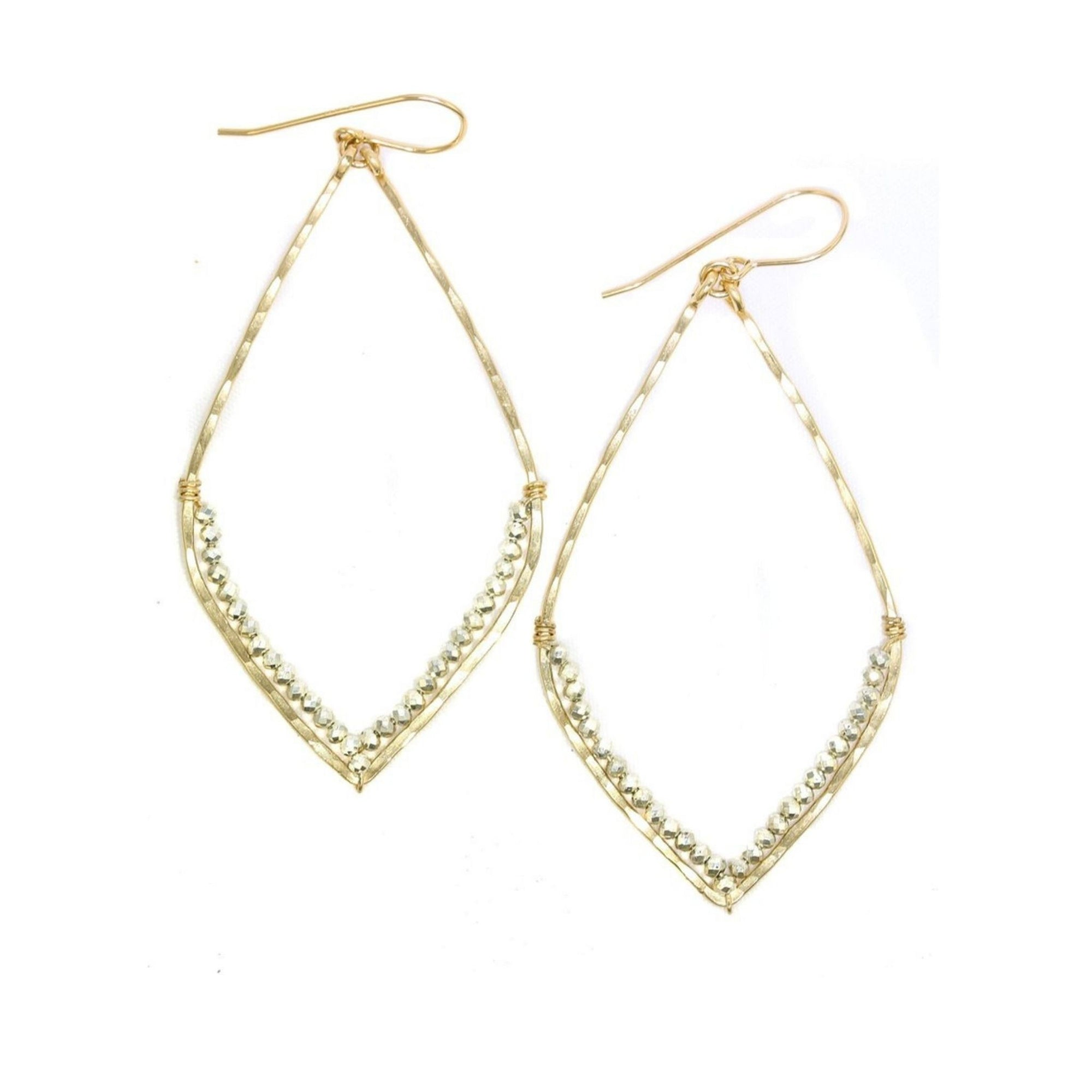 San Sebastian Gold/Silver Earrings