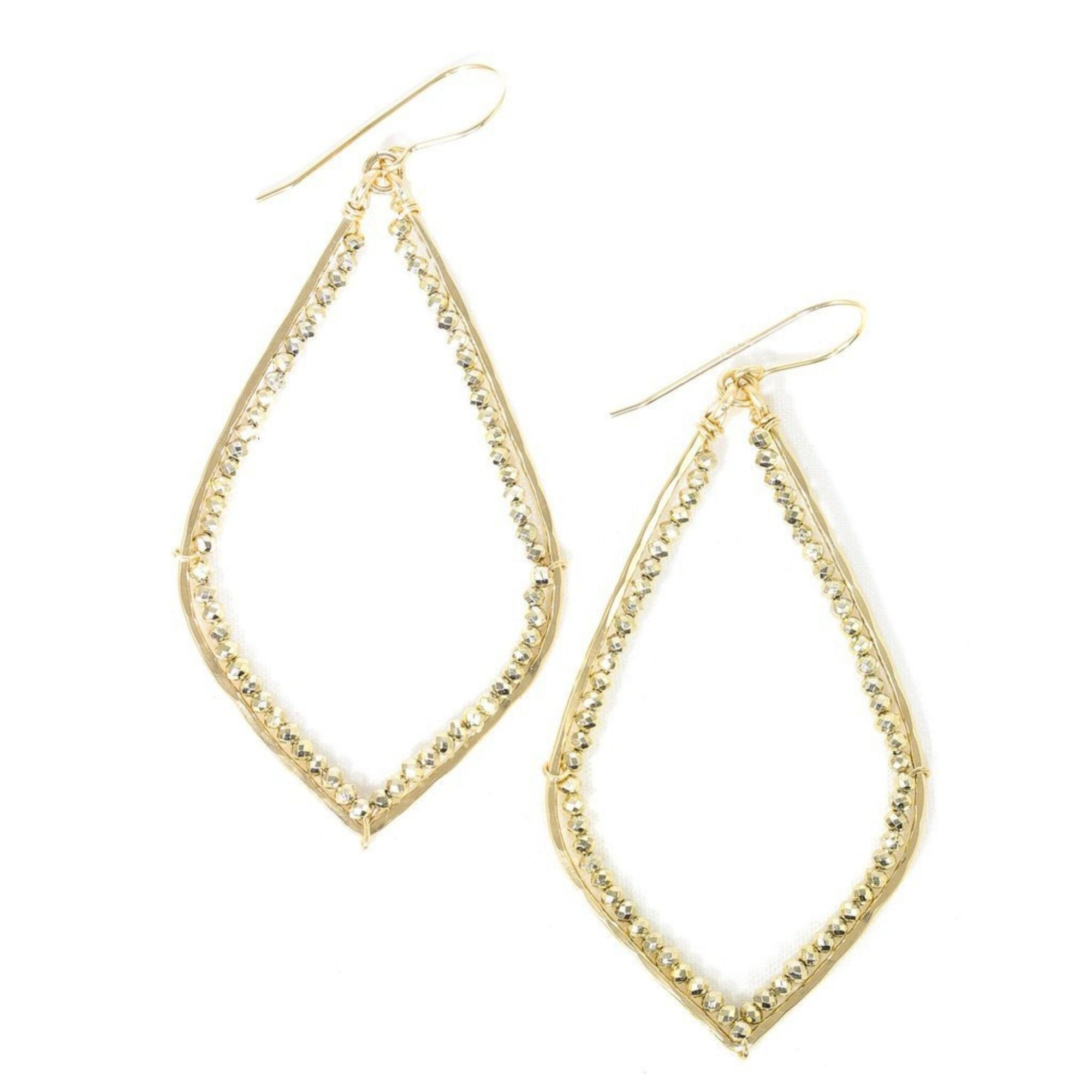 Santorini Gold Earrings